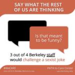 Staff challenge sexism