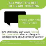 Staff redirect condescension
